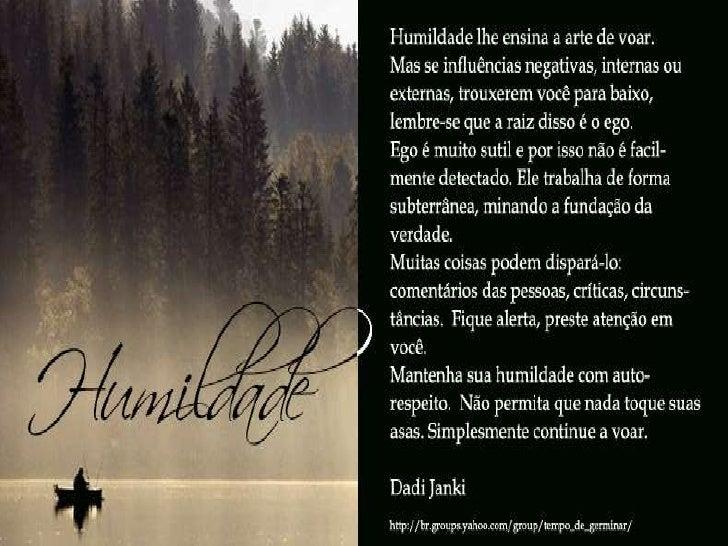 Frases De Humildade: Humildade Leo