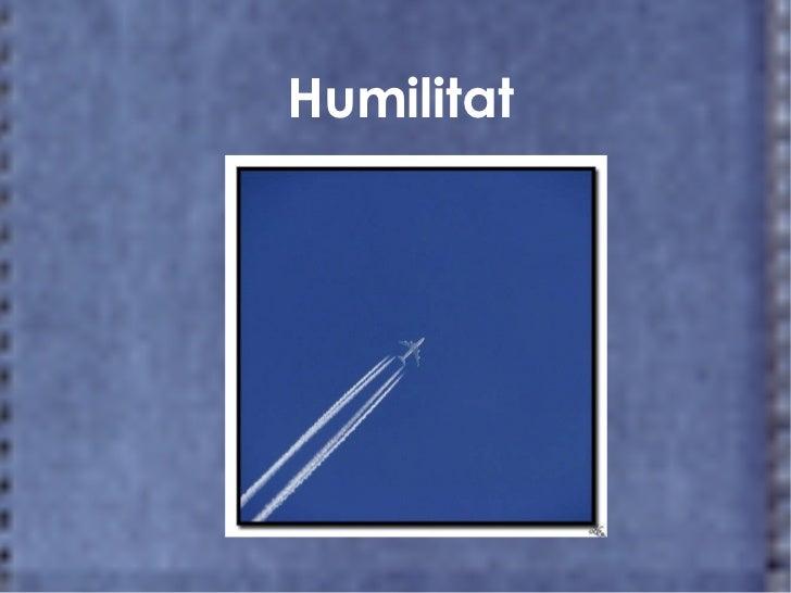 Humilitat