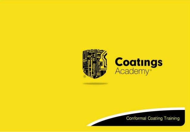 Conformal Coating Training