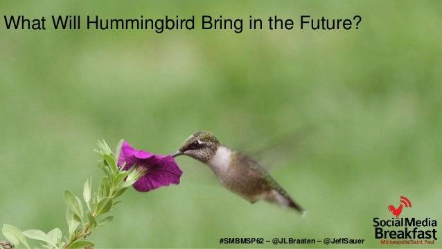 Google Hummingbird in a Social Media World slideshare - ì›¹
