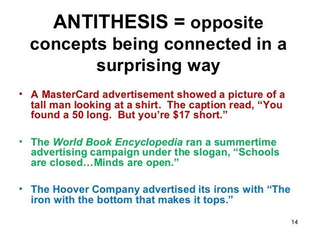 Antithesis synonyms