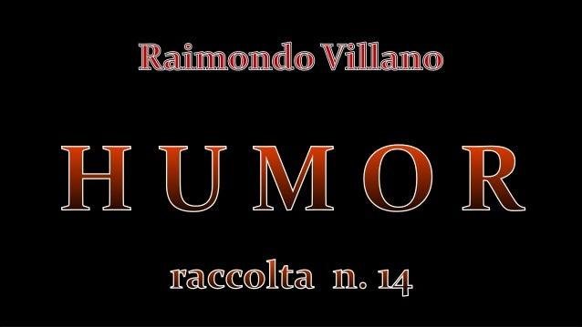 Humor   racc. n. 14