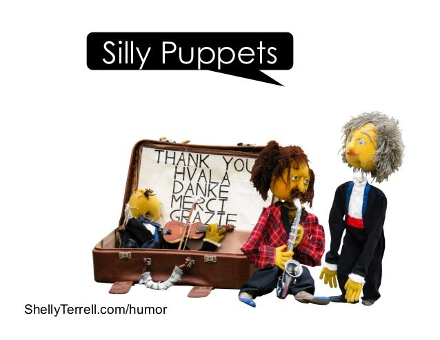 Silly Puppets ShellyTerrell.com/humor