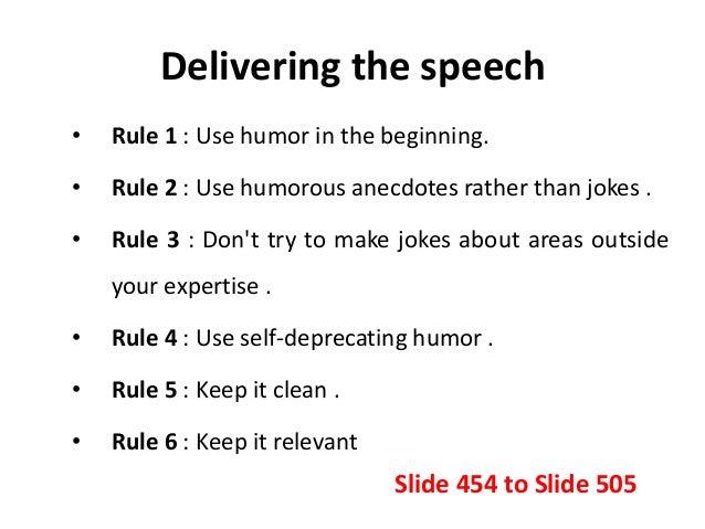 The Art of Using Humor in Public Speaking