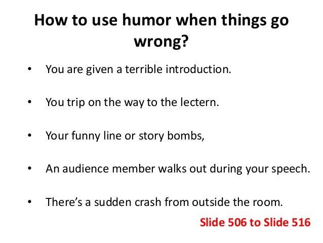 funny speeches to memorize
