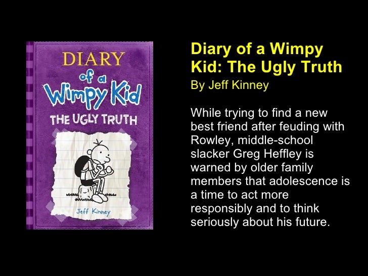 Diary of wimpy kid ugly truth summary