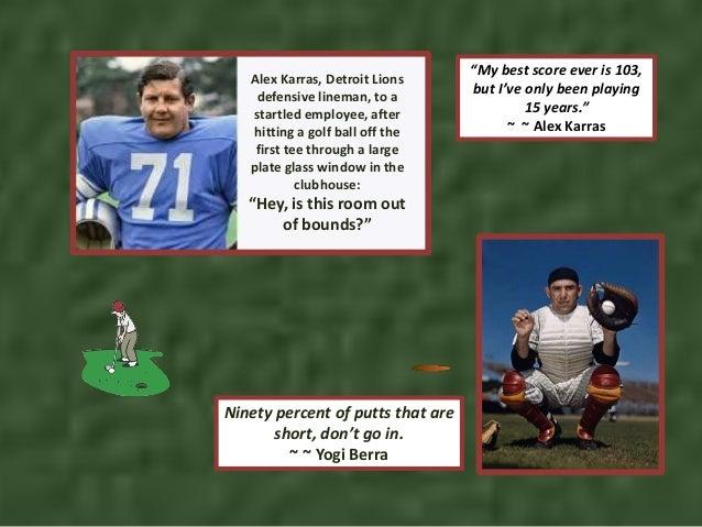 Humorous golf quotes