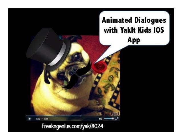 Have them create comics! Comics Head Lite IOS/ Android App