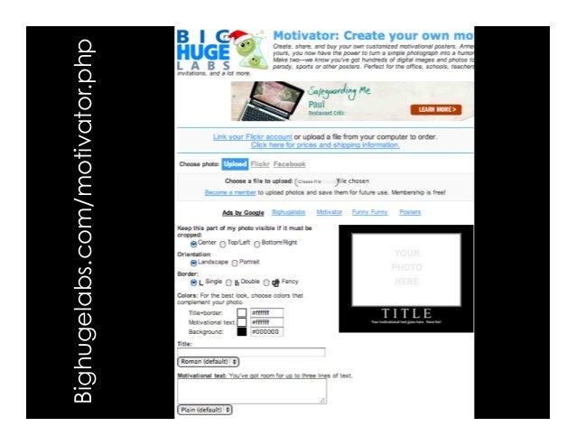 Bighugelabs.com/motivator.php