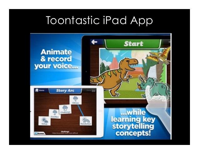 Toontastic iPad App