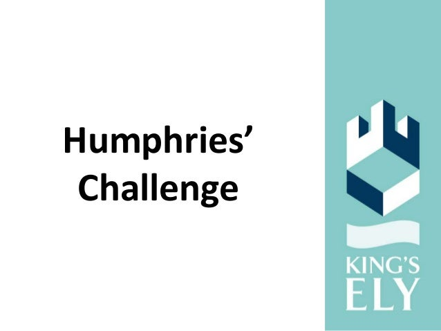 Humphries' Challenge