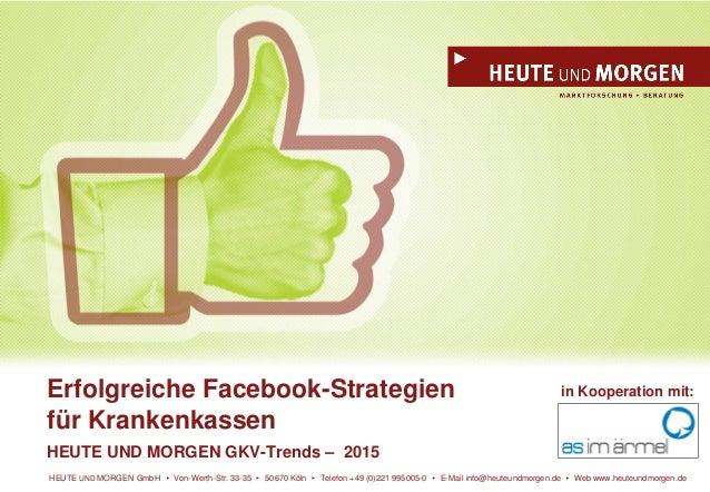 HEUTE UND MORGEN GmbH Von-Werth-Str. 33-35 50670 Köln Telefon +49 (0)221 995005-0 E-Mail info@heuteundmorgen.de Web www.he...