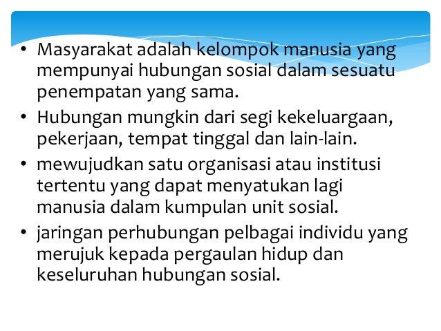 Hubungan Etnik Di Malaysia Dan Konsep Masyarakat Kuliah 1