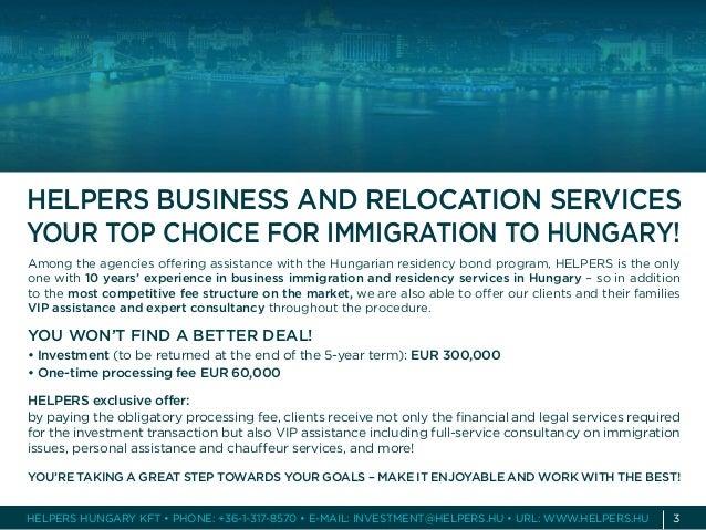Hungarian Residency Bond Program