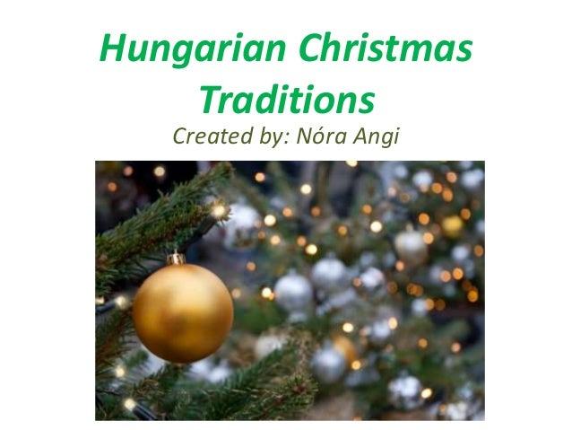 Hungarian christmas traditions