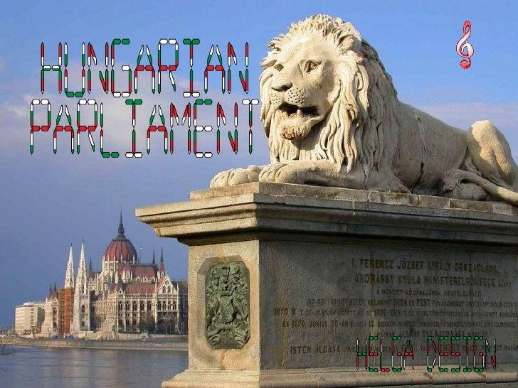 Hungarian  Parliament Helga design