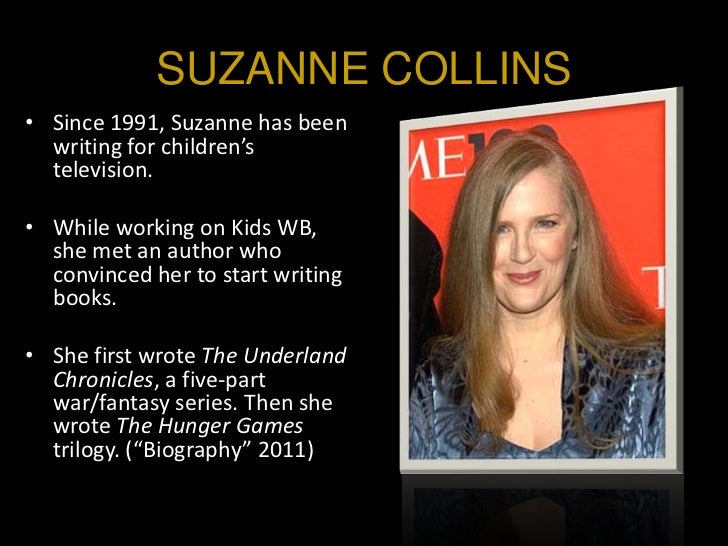 the writer of the hunger games
