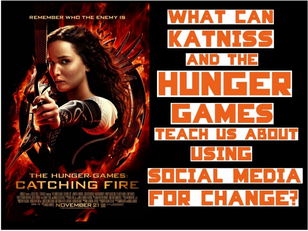 What can the Hunger Games teach us about using social media for change?