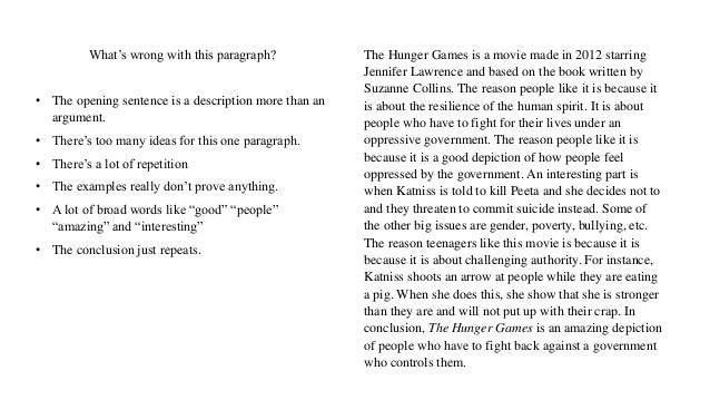 Hunger games essay conclusion