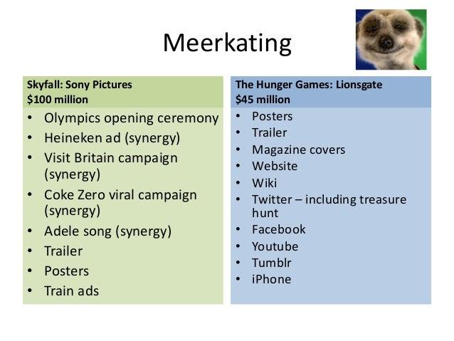 Hunger games media case study