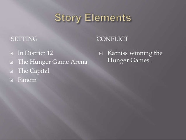 what is the hunger games setting