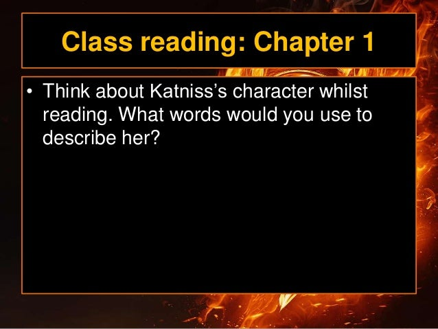 hunger games book 2 chapter 1