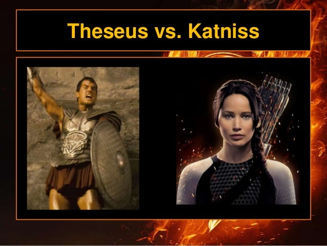 theseus and the hunger games How does theseus and the minotaur compare to the hunger games, from what you know of the novel.