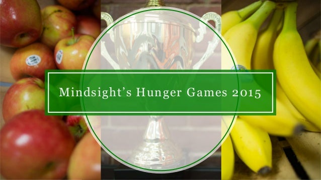 Mindsight's Hunger Games 2015
