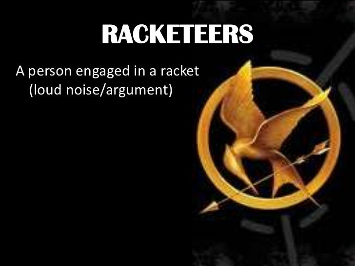 Hunger games vocabulary i