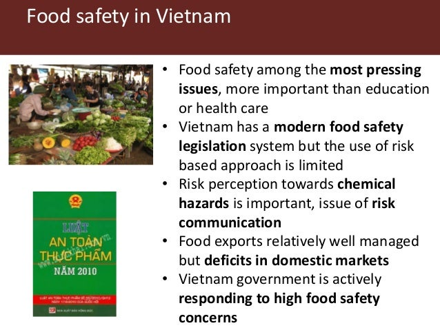 Presentation by Hung Nguyen, Food Safety Workshop 24 May 2017