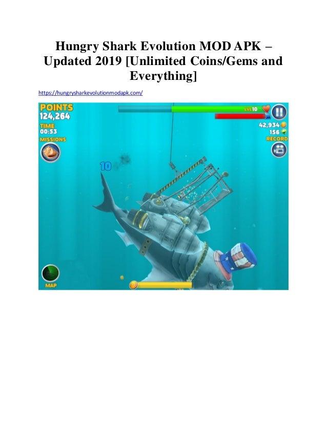 Hungry shark evolution mod apk 2019 | HUNGRY SHARK EVOLUTION