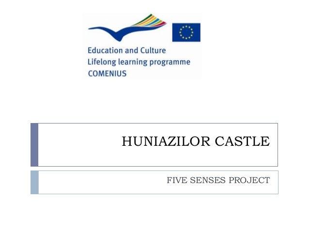 HUNIAZILOR CASTLE FIVE SENSES PROJECT