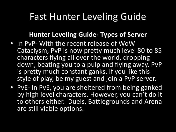 wow fast leveling guide 1 85