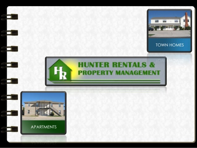 Hunter Rentals & Property Management is a residential property management firm serving Killeen, Texas.  www.hunterrentals....