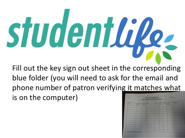 computer sign out sheet