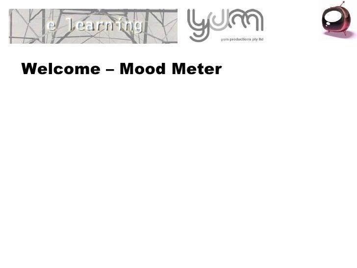 Welcome – Mood Meter