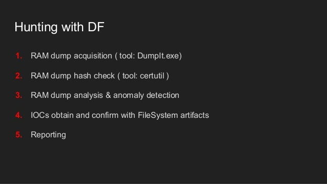 Olha Pasko - Hunting fileless malware [workshop]