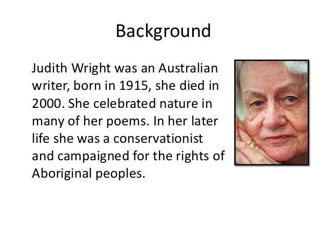 hunting snake by judith wright 2 essay Poetry revision with mr brooker this video should be used for revision to stimulate your own personal response to the poem the poem is found in the igcse.