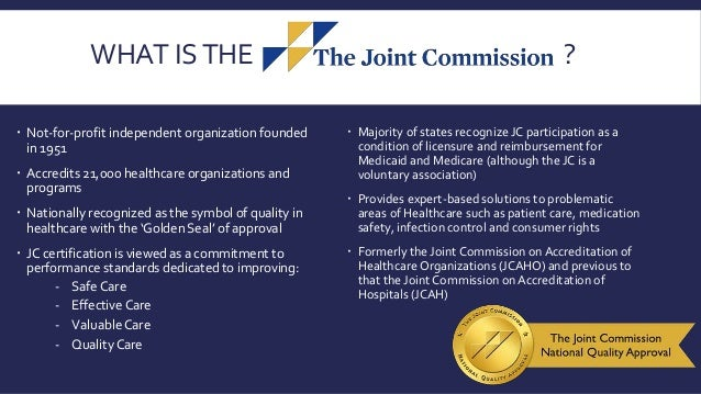 the joint commission  home healthcare 2017