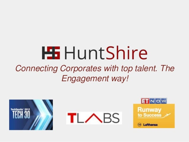 Connecting Corporates with top talent. The Engagement way!