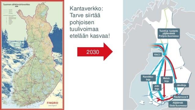2030 Kantaverkko: Tarve siirtää pohjoisen tuulivoimaa etelään kasvaa! 15