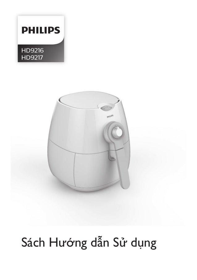 HD9216 HD9217 Sách Hướng dẫn Sử dụng