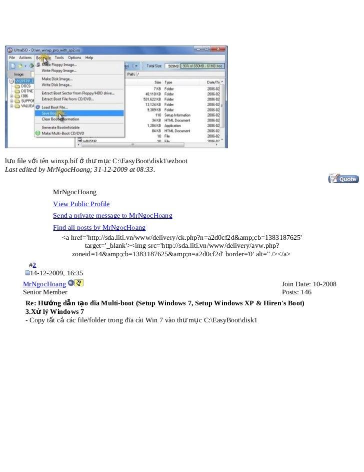 Huong dan-tao-dia-multi-boot-setup-windows-7-setup-windows-xp-hiren-s…