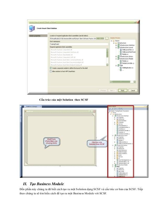 Hướng dẫn lập trình với SCSF phần I (smart client software factory) Slide 3