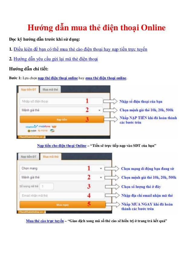 nạp thẻ điện thoại online rẻ nhất