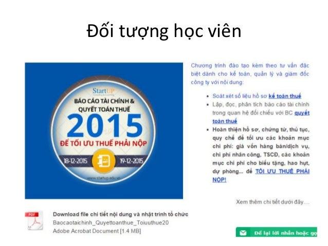 Hướng dẫn lập báo cáo tài chính và quyết toán thuế tại Buôn Ma Thuột I 0977 978 949  Slide 2