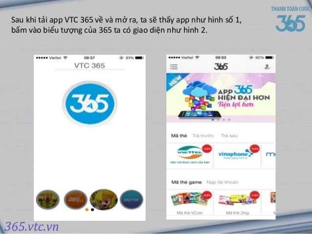 Sau khi tải app VTC 365 về và mở ra, ta sẽ thấy app như ...