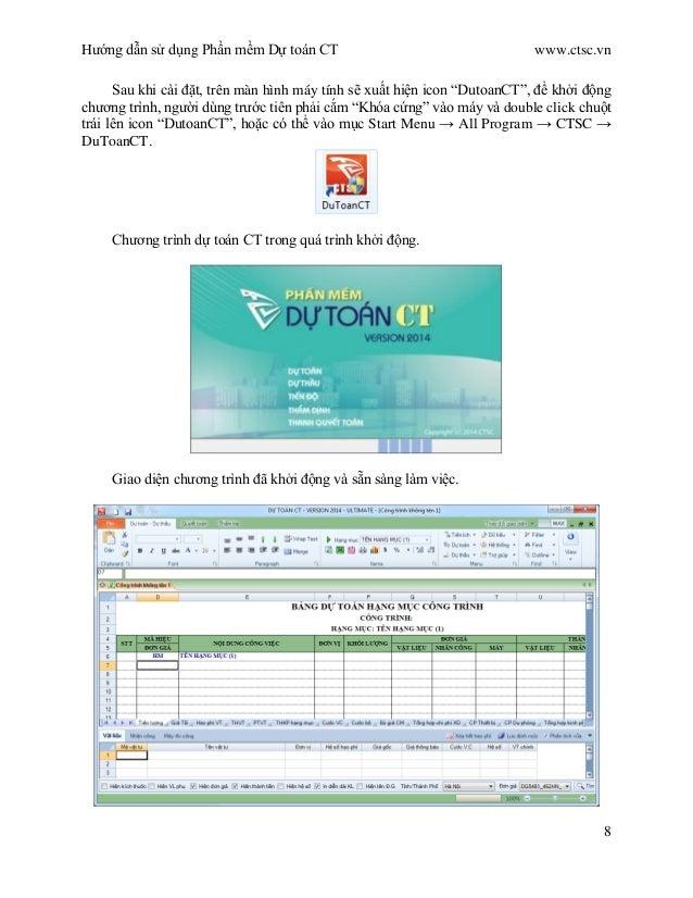 Hướng dẫn sử dụng Phần mềm Dự toán F1 | Phần mềm Dự Toán F1