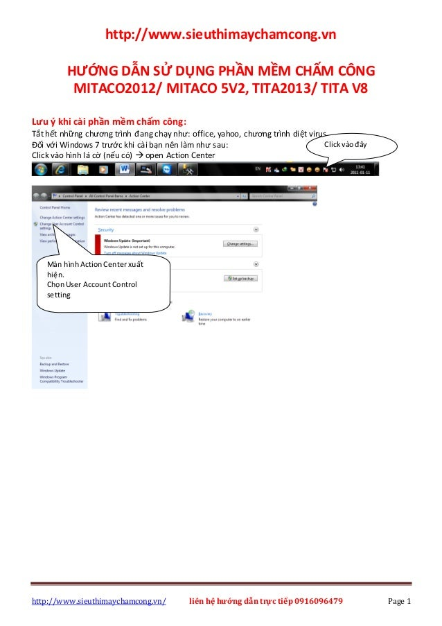 http://www.sieuthimaychamcong.vn/ liên hệ hướng dẫn trực tiếp 0916096479 Page 1 http://www.sieuthimaychamcong.vn HƯỚNG DẪN...