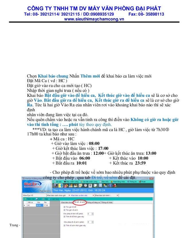 CÔNG TY TNHH TM DV MÁY VĂN PHÒNG ĐẠI PHÁT Tel: 08- 39212114/ 39212115 / DD:0908935129 Fax: 08- 35898113 www.sieuthimaycham...